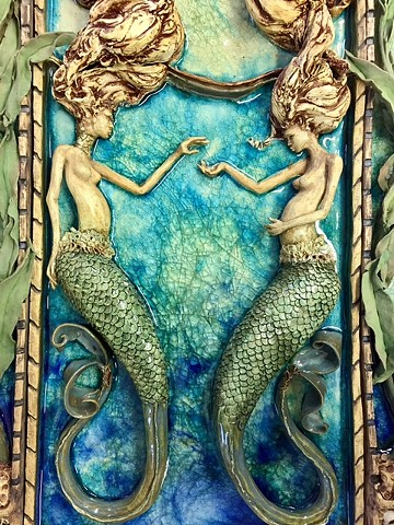 Cathedral of the Sea - Mermaid Detail