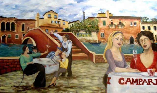 Italian Village Mural