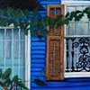 Blue House on Rampart Street