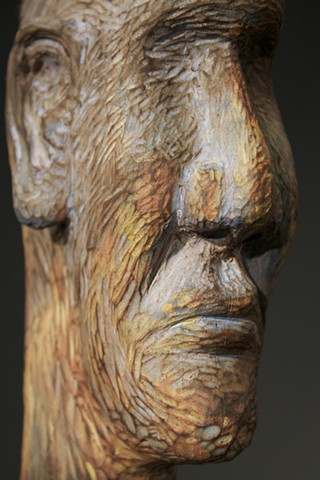 wood carving, sculpture