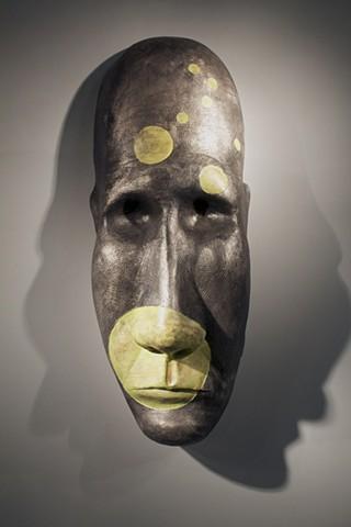 Cast aluminum sculpture, figurative