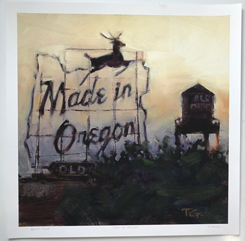 LARGE - MADE IN OREGON ARCHIVAL PRINT