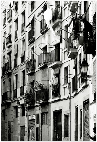 Hulya Kilicaslan photograph of Paris balcony by Hulya Kilicaslan Amsterdam