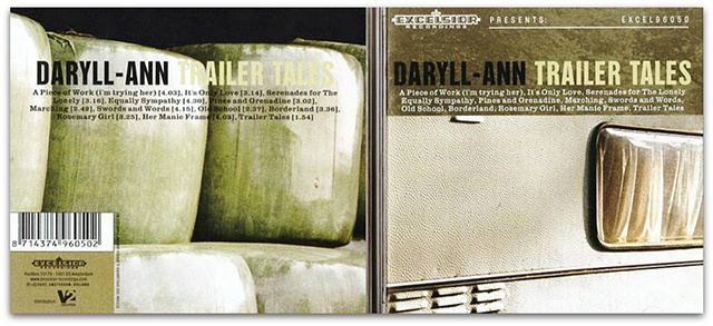 Hulya Kilicaslan photography artwork album Daryll-Ann Trailer Tales by Hulya Kilicaslan music