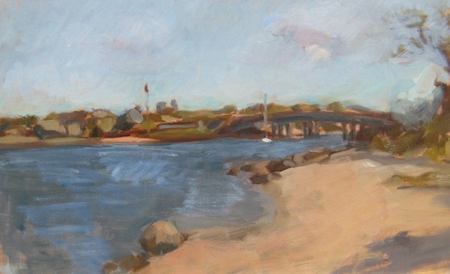 Sag Harbor Bridge Sketch