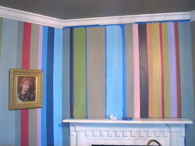 Stripes with tape