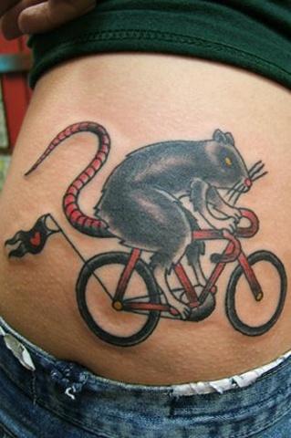 kristen's biker rat