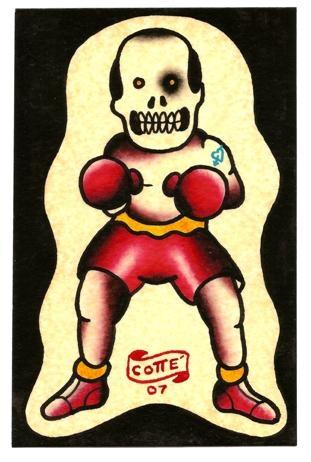 skull boxer