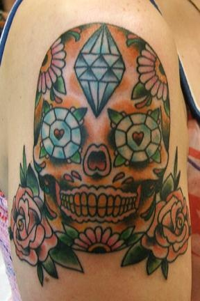 jenny's skull and roses