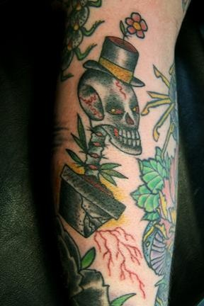 carlitos's arm skull