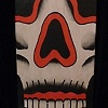 coffin skull skate deck