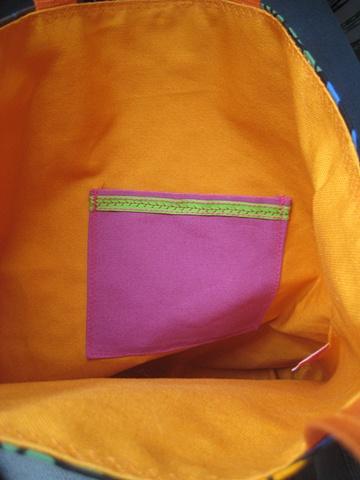 yellow Submarine interior/pocket
