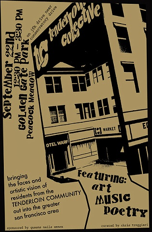 Tenderloin Collective Event Poster.