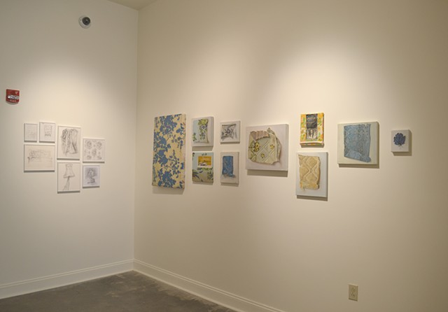 Pentimenti, installation view
