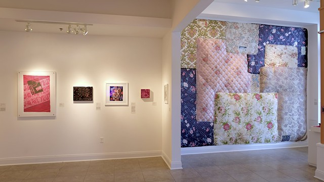 Gritty in Pink, installation view