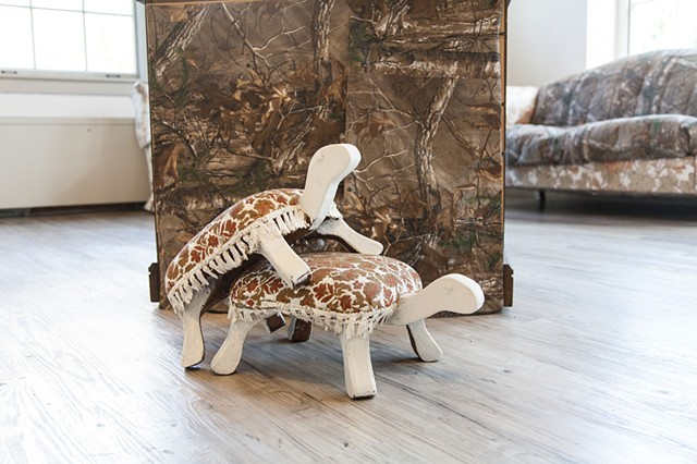 Turtle Footstools