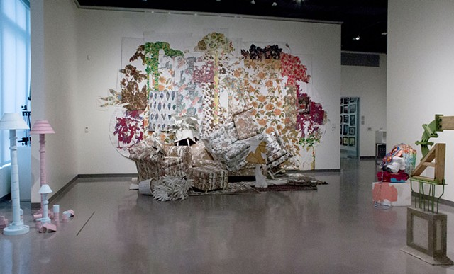 The Overgrown Garden, installation view