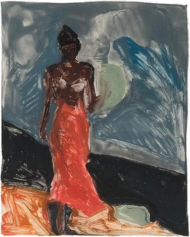 Woman Strolling