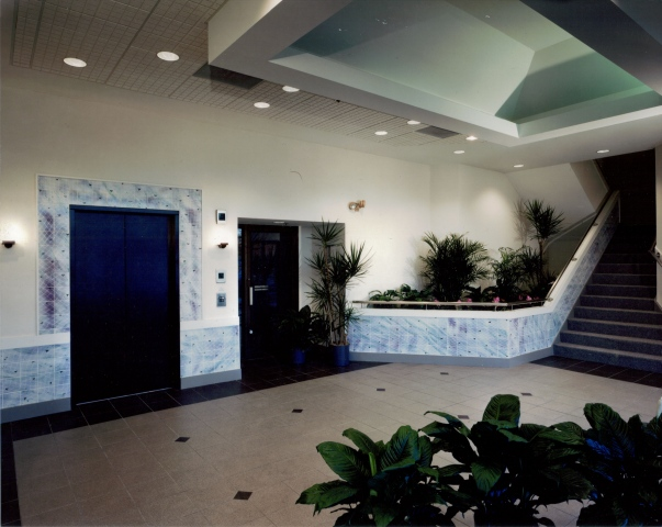 Lowell Research Center lobby