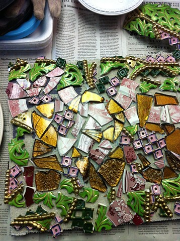 Mosaic Workshop 2-3-13