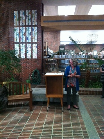 Brookline Library Installation Reception
