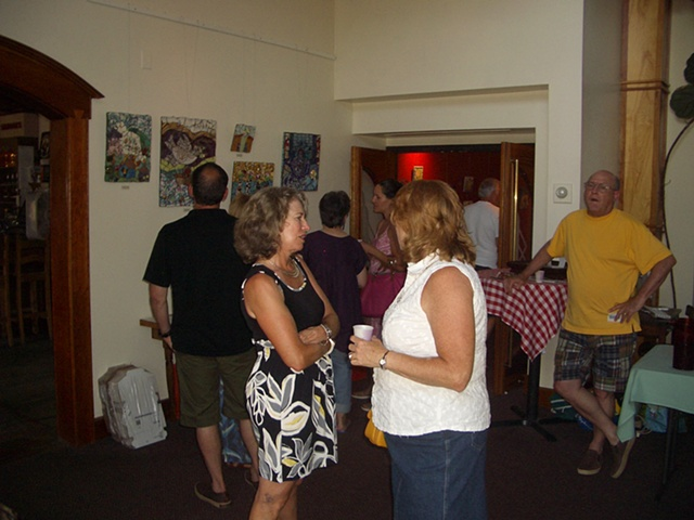 Big Picture Opening, Waitsfield 7/7/10