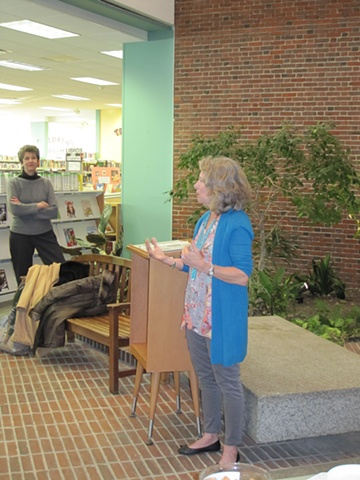 Coolidge Corner Library Reception