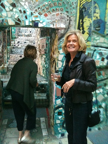 Bonnie Barnes at Magic Gardens