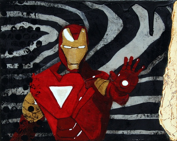 I am Iron Man Legends Gallery Santa Fe Against The Grain SWAIA Frank Buffalo Hyde
