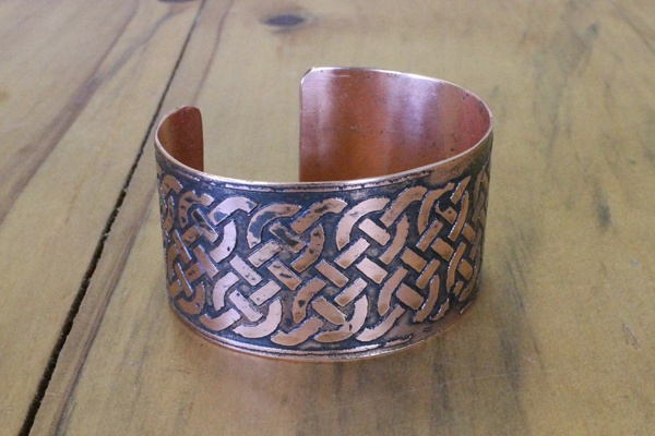 Copper Celtic Bracelet