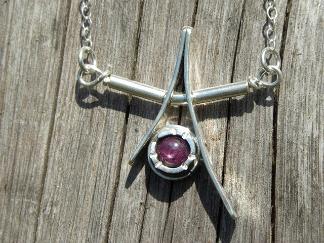 #232, star in a star, necklace