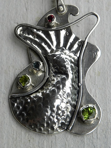fish or mermaid, #226, necklace