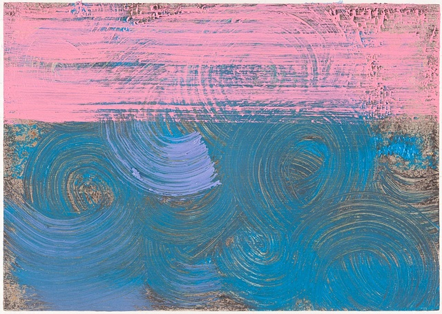 Untitled (Pink and Blue)