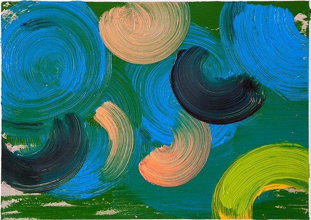 Untitled (Blue and Orange)
