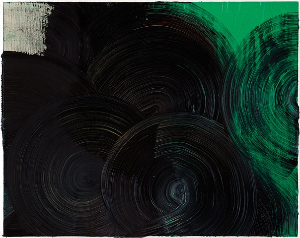 Untitled (Black and Green)