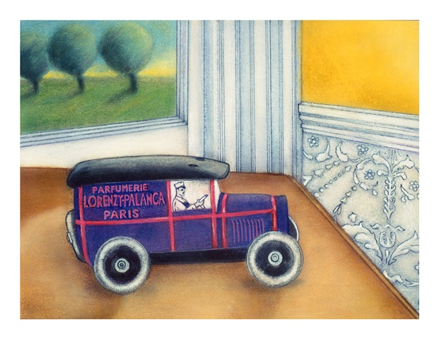 French Perfume Truck
