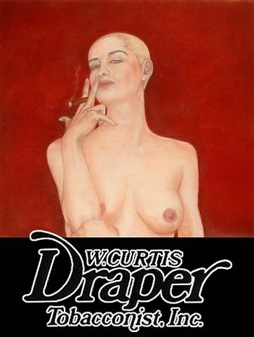 W. Curtis Draper Tobacconist (with Olga)