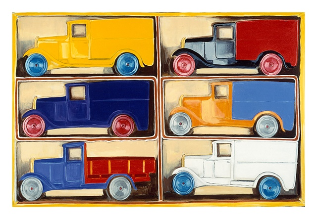 Matchbox English Delivery Trucks