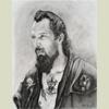 Study for biker portrait