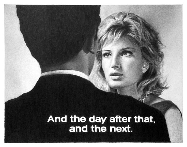 Subtitled Film Still: And The Day After That, And The Next