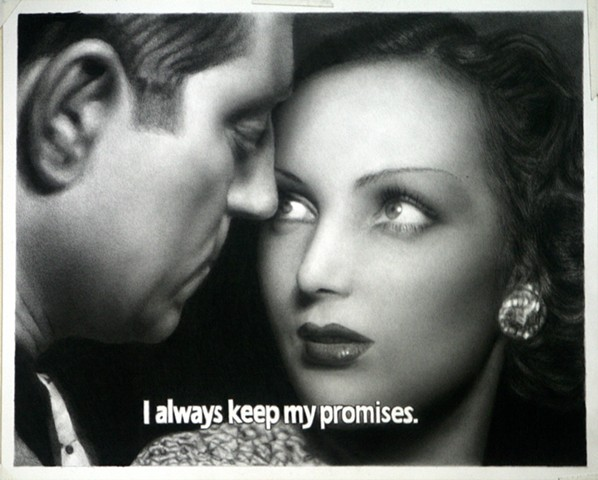 Subtitled Film Still: I Always Keep my Promises