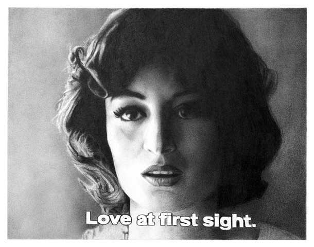 Subtitled Film Still: Love At First Sight