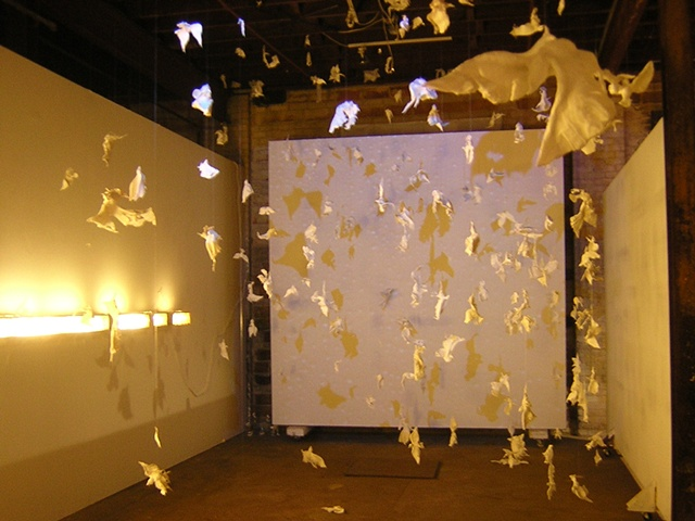 Falling Bird Installation