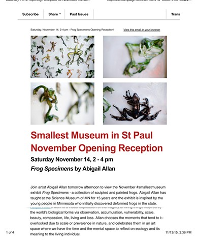 Smallest Museum in the World show