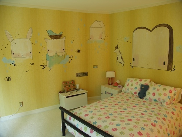 Bedroom Mural - Private Commission