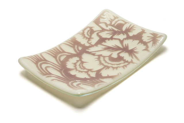 Jewelry Plate Floral (Rose)