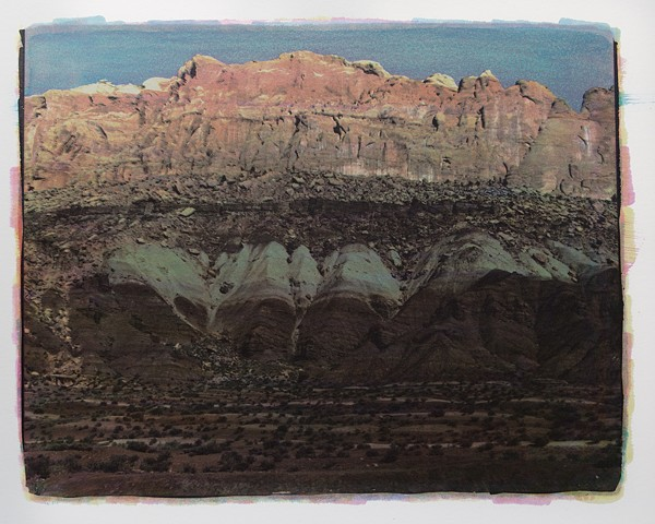 Landscape of Capitol Reef National Park