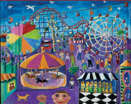 Folk Art amusement park