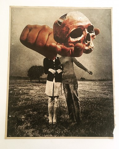 Untitled (Skull in Hand), 2018