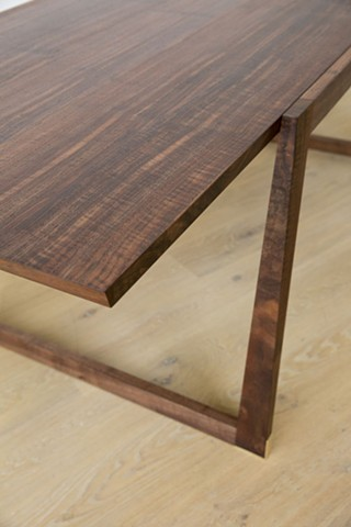 California Walnut Dining Table